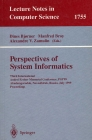 LNCS 1755. Perspectives of System Informatics 1999