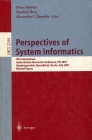 LNCS 2244. Perspectives of System Informatics 2001