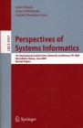 LNCS 5947. Perspectives of System Informatics 2009
