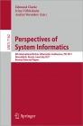 LNCS 7162. Perspectives of System Informatics 2011