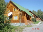 Mountain Altai. Camping house