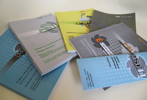 Preliminary books of tutorial, invited and accepted contributions